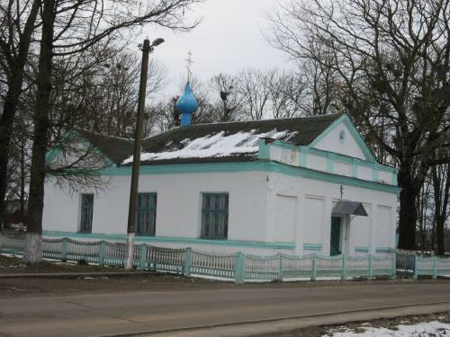 Православная церковь в агрогородке Германовичи
