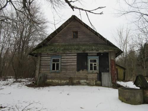Единственный нежилой дом хутора Теплая Гора